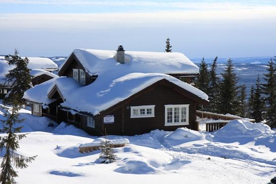 Hytte til leie med flott utsikt
